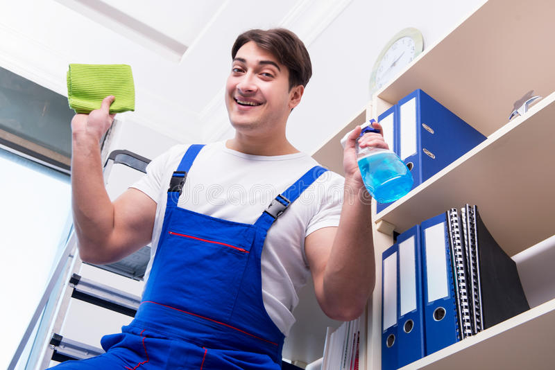 how to get office cleaning jobs