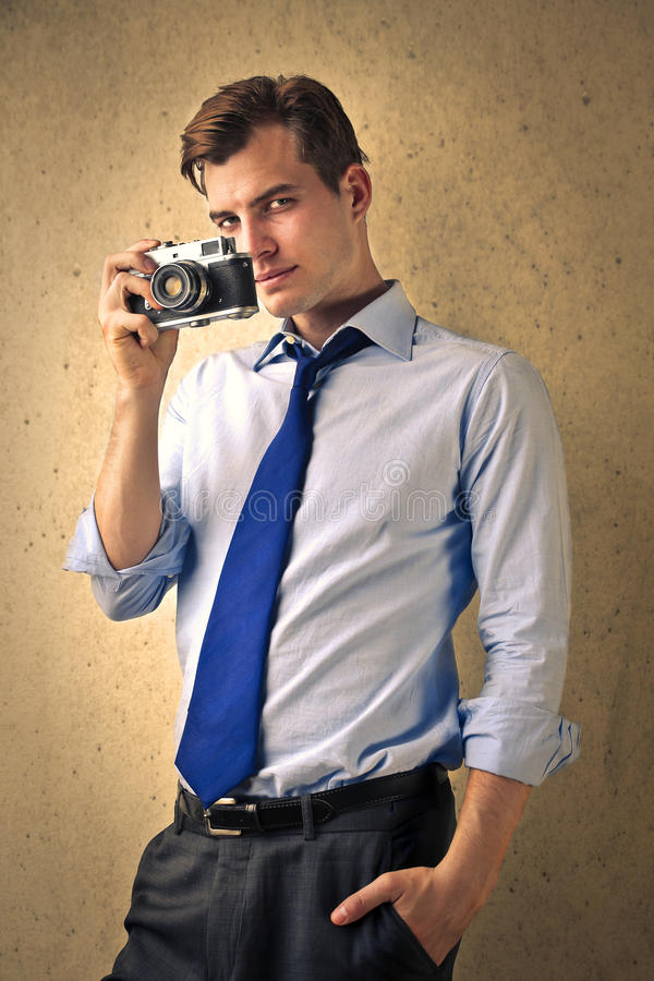 Male photography royalty free stock image