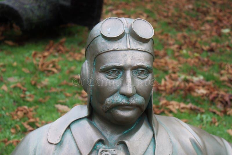 Male Pilot Statue Free Public Domain Cc0 Image