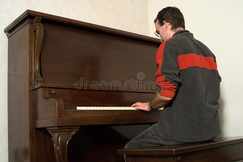 Male Playing Piano