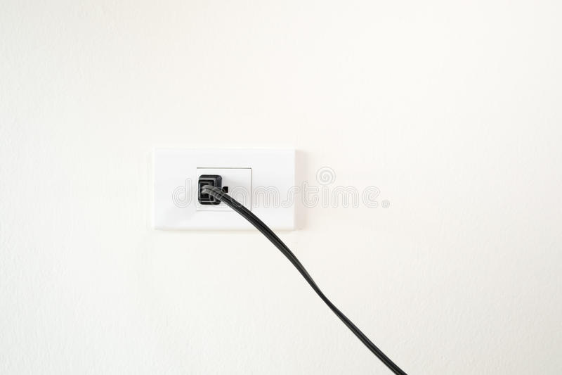 male plug royalty free stock image