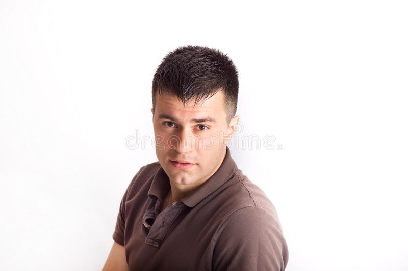 Male portrait stock images