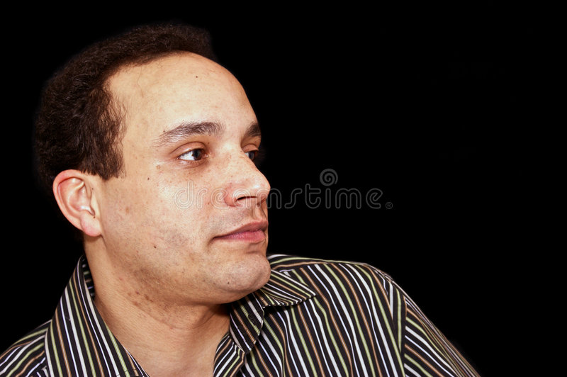 Download Male profile stock image. Image of ethnic, male, collar - 8419711
