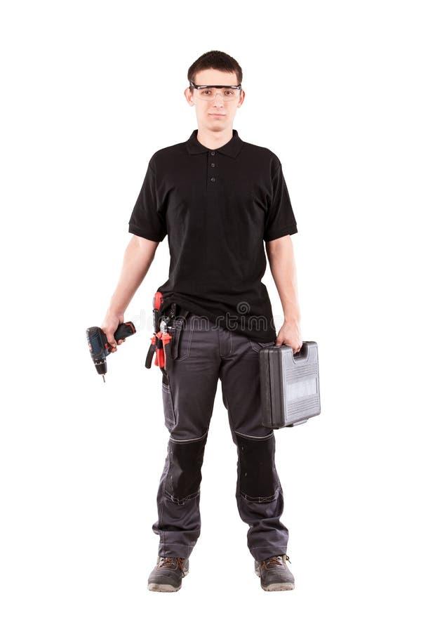 Male serviceman stock photos