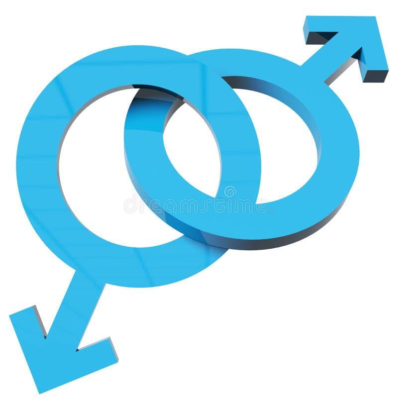Download Male  signs stock illustration. Illustration of friendship - 23876306
