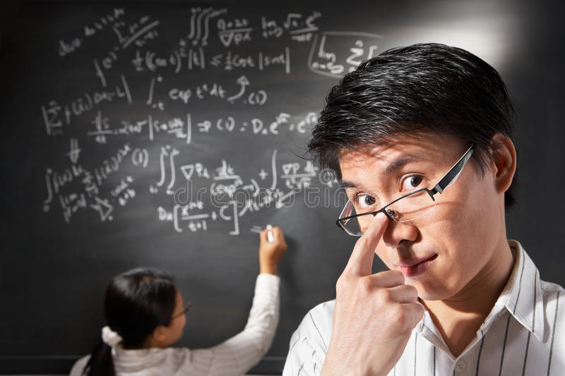 Male student stock photography
