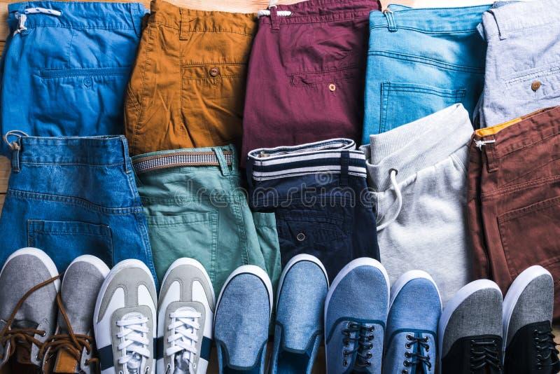 Male summer shorts royalty free stock photo