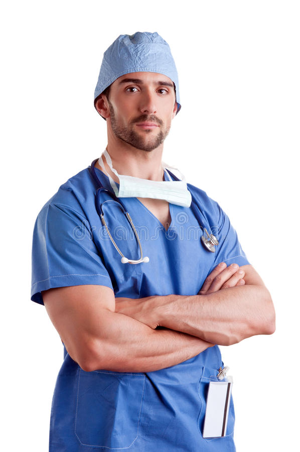 Download Male Surgeon stock image. Image of health, concentrating - 31197517