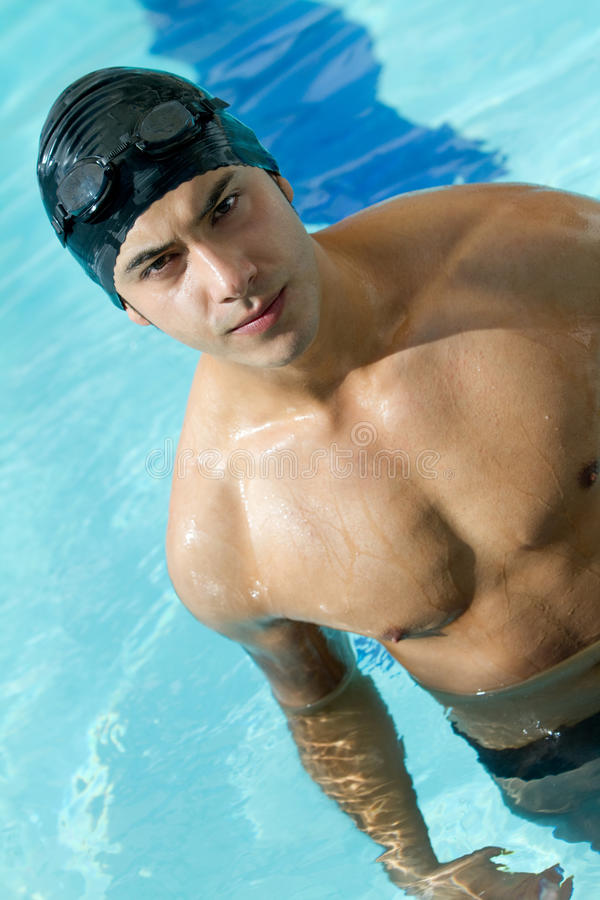 Download Male swimmer stock image. Image of handsome, sports, young - 20938729
