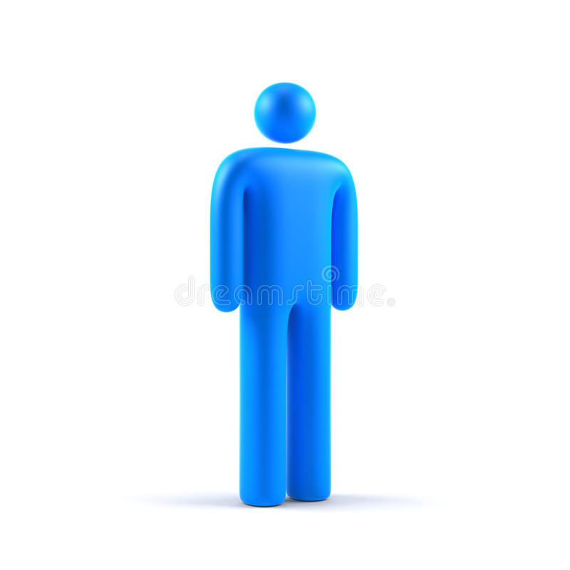 Male Symbol Royalty Free Stock Photography