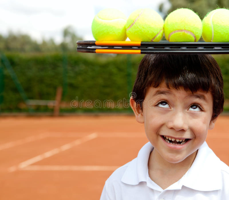Male tennis player