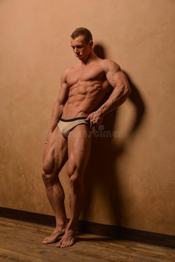 Male torso stock photo