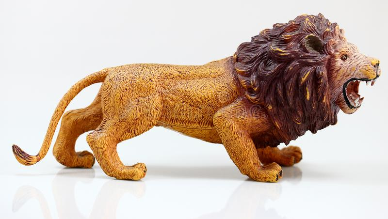 Male toy loin royalty free stock image