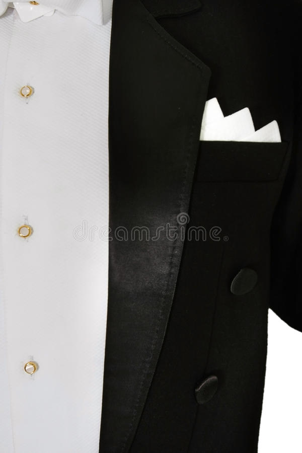 Male tuxedo royalty free stock images