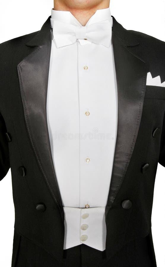Free Male Tuxedo Over White Stock Photo - 12303200