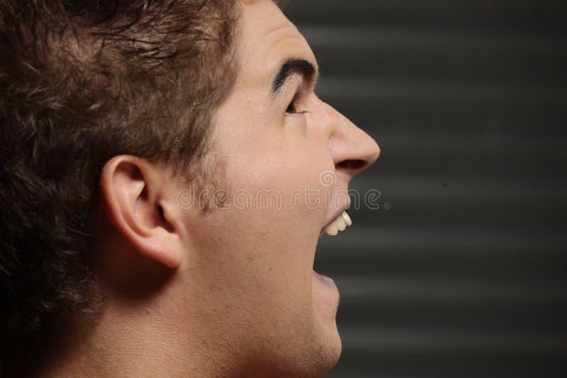 Download Male Vampire Over Dark Background Stock Photo - Image: 16374536