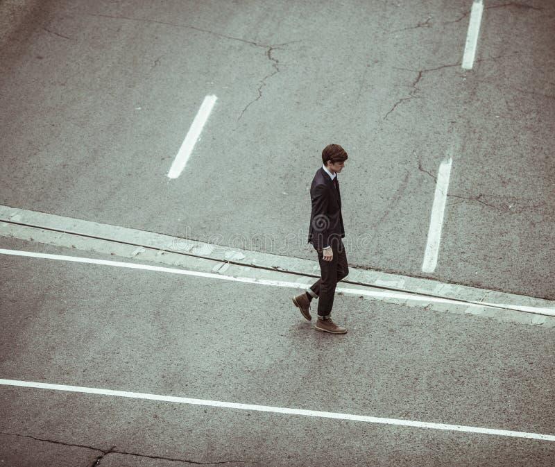 Male Walking Across Street Free Public Domain Cc0 Image