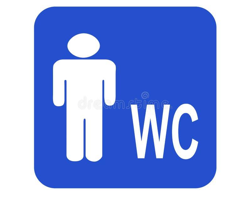 Male Wc Stock Photo