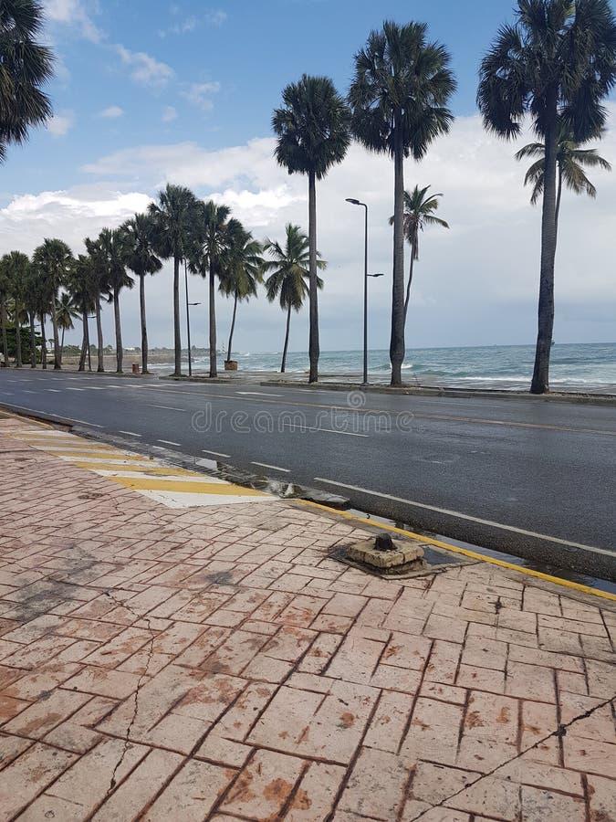 Malecon De Saint-Domingue image stock