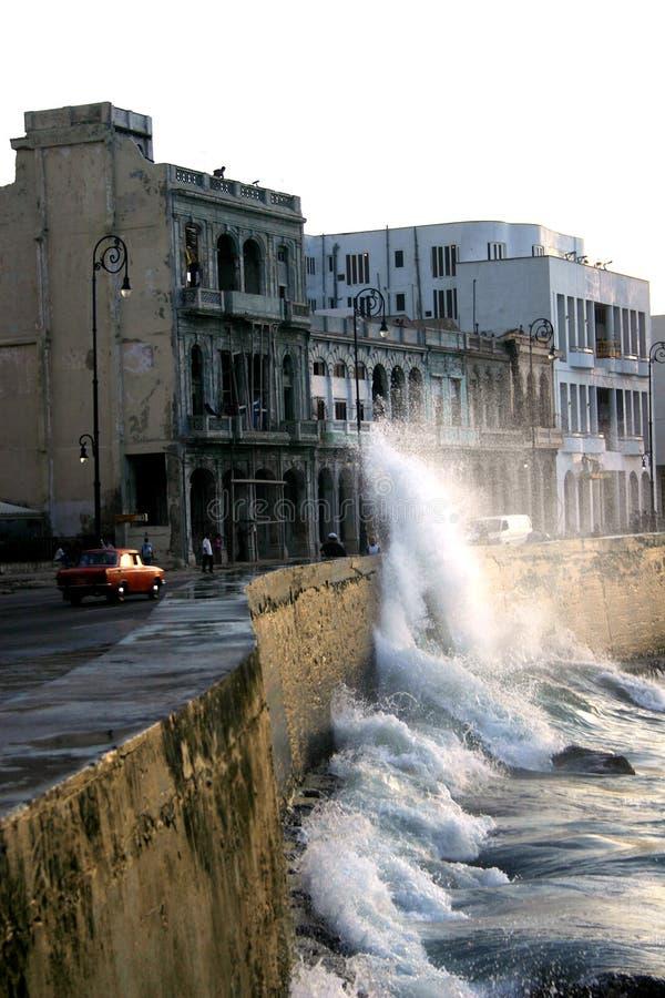 Malecon La Habana imagenes de archivo