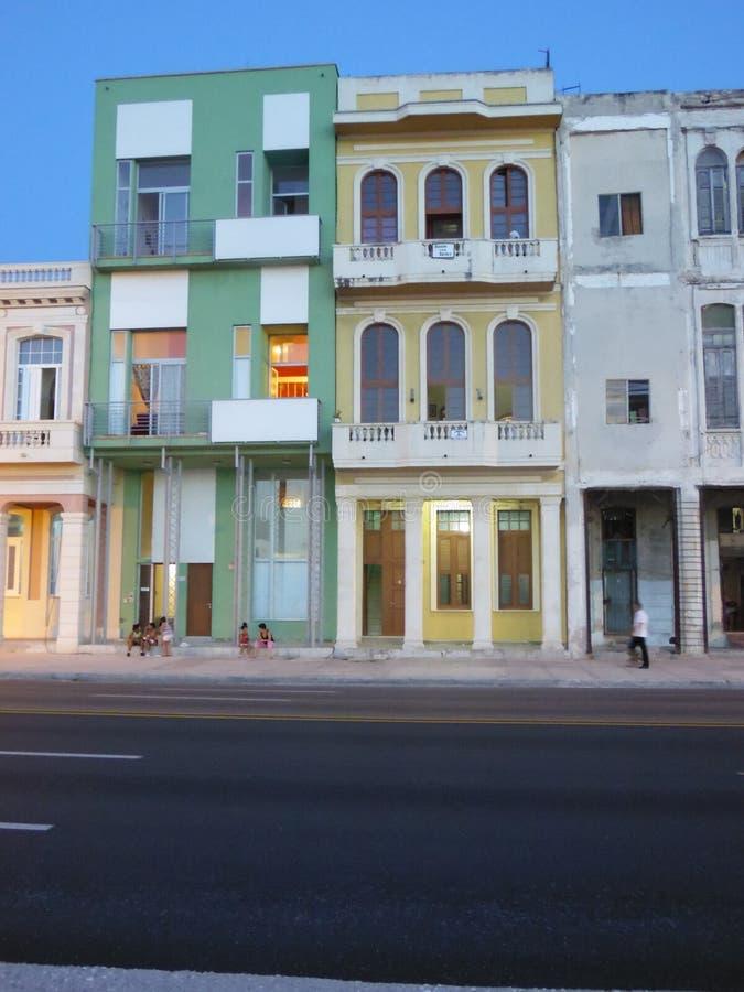 Malecongebouwen 4 stock foto