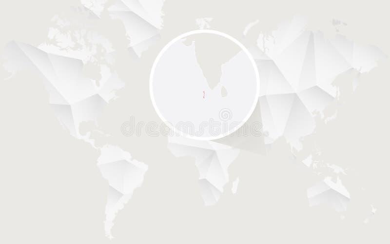Malediven Karte Weltkarte.Malediven Zeichnen Im Grau Auf Einem Weißen Hintergrund Auf Stock