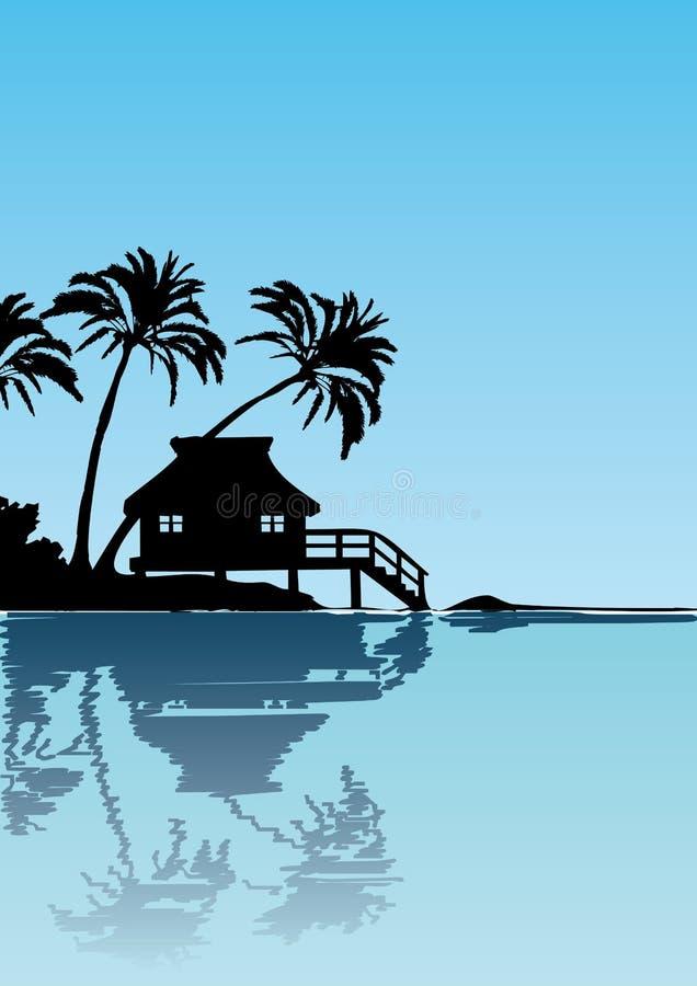 Free Maledives Illustration Royalty Free Stock Image - 13835046