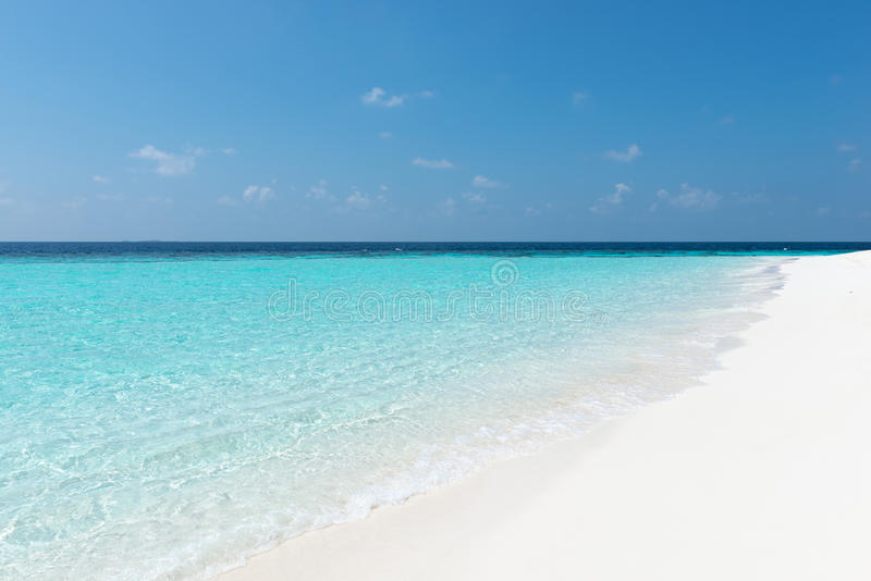 Maledives stock image