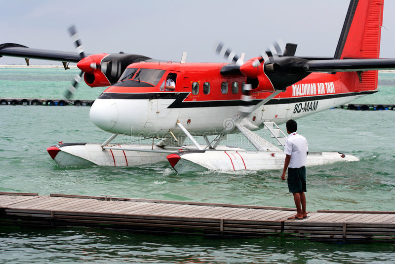 Maledivisches Luft-Rollen lizenzfreie stockfotos