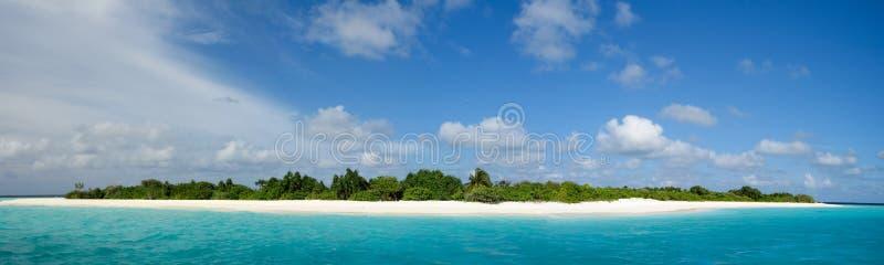 Maledivisches Paradies stockbilder