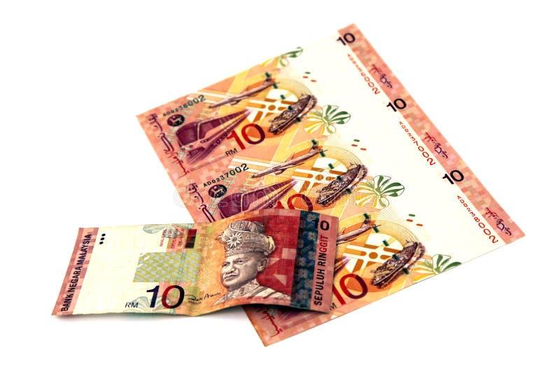 Maleis geld stock afbeeldingen