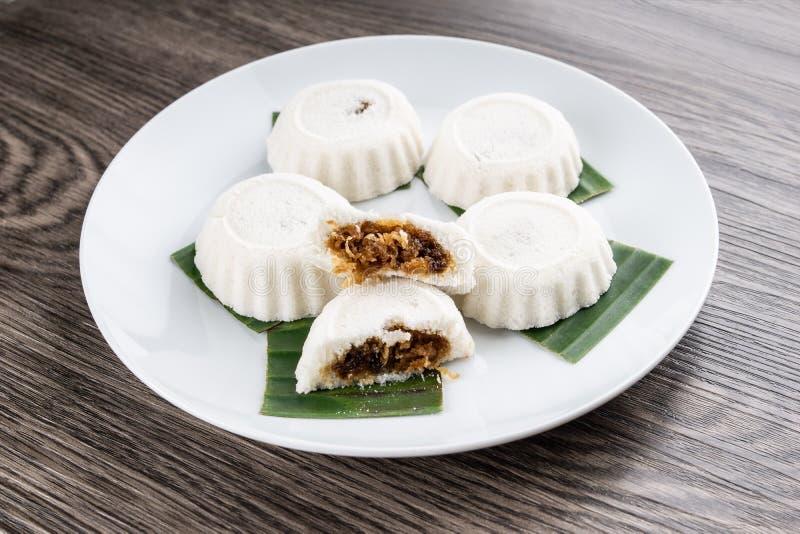 Maleis Traditioneel voedsel stock foto