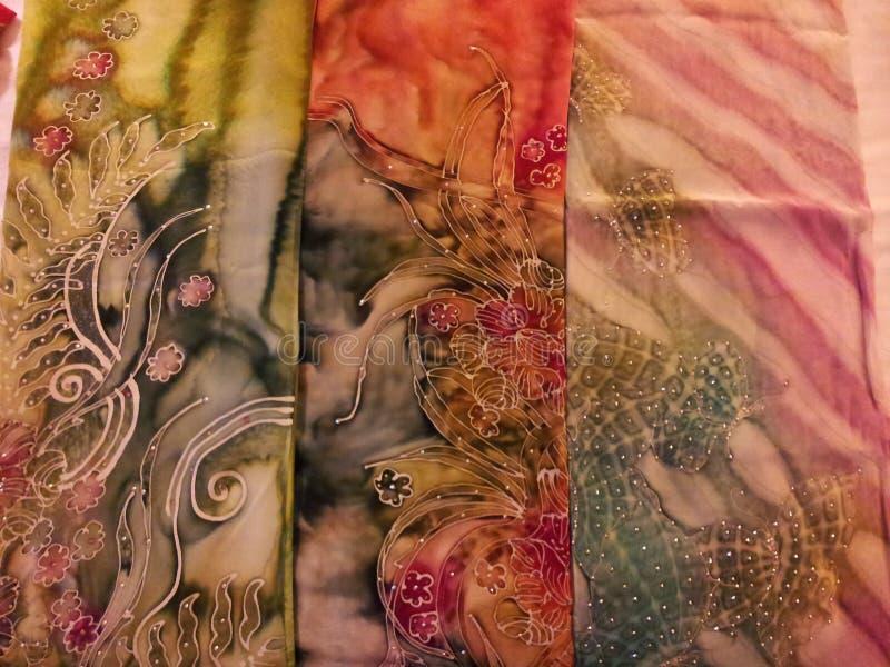 Maleise Batik stock fotografie