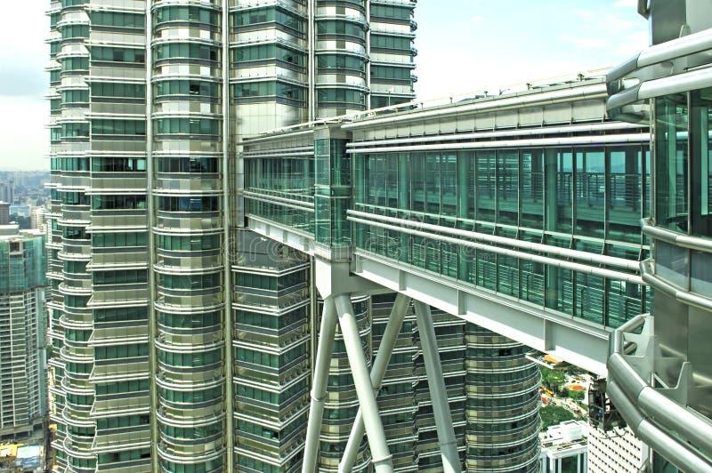 Maleisië, Kuala Lumpur: De torens van Petronas royalty-vrije stock foto's