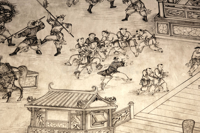 Maleisië, Penang: Chinese tempel royalty-vrije stock afbeelding