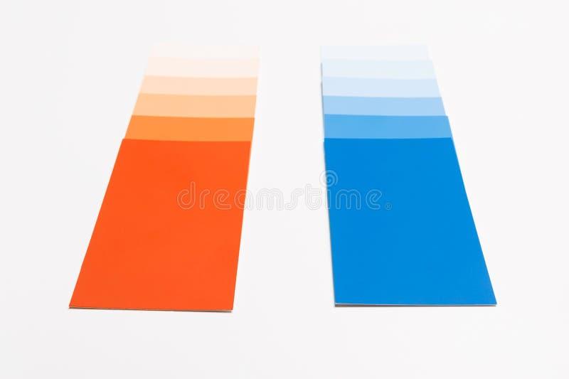 Malen Sie Beispielkarten lizenzfreies stockbild
