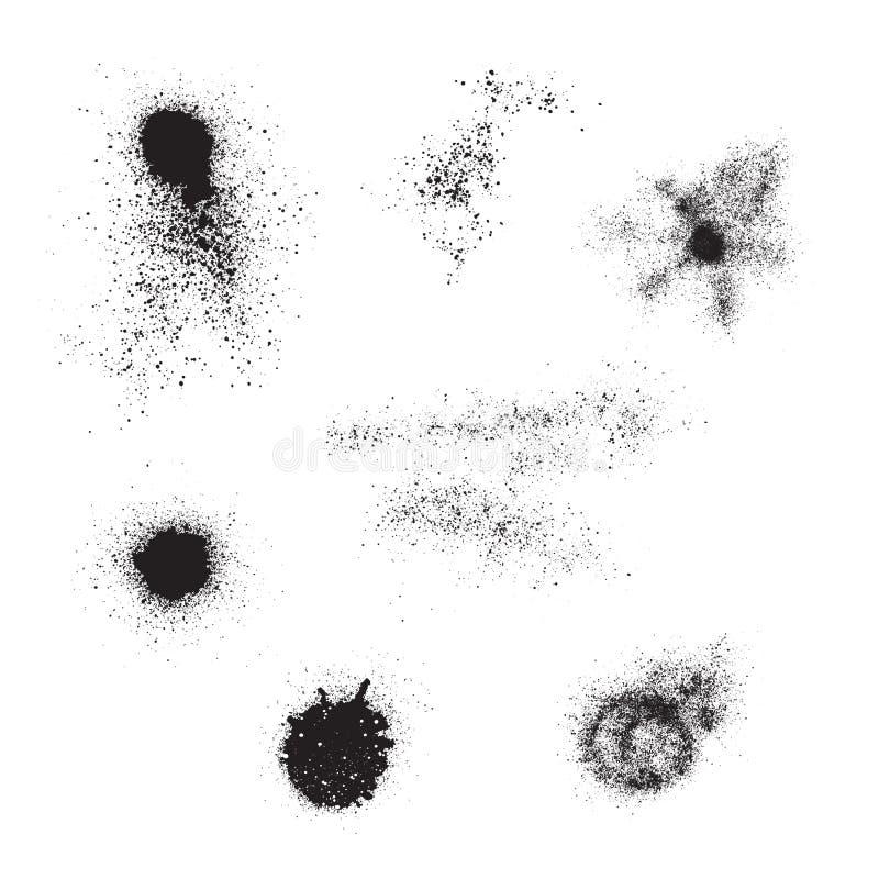 Malen Sie Splatter lizenzfreie abbildung