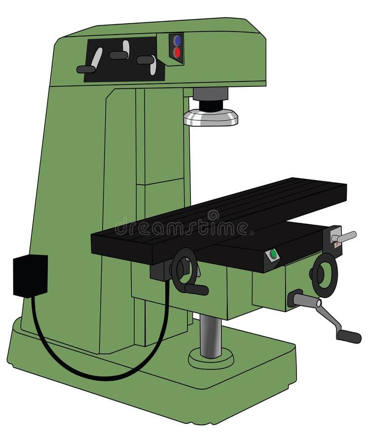Malenmachine vector illustratie