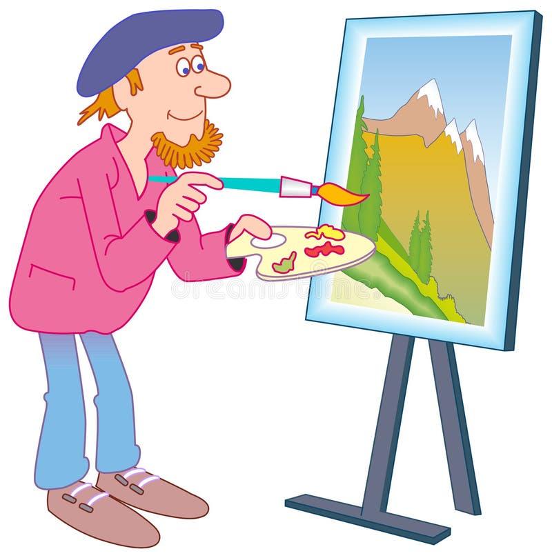 Maler vektor abbildung