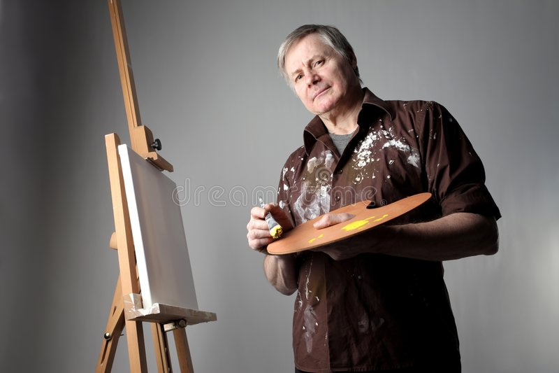 Maler lizenzfreie stockfotografie