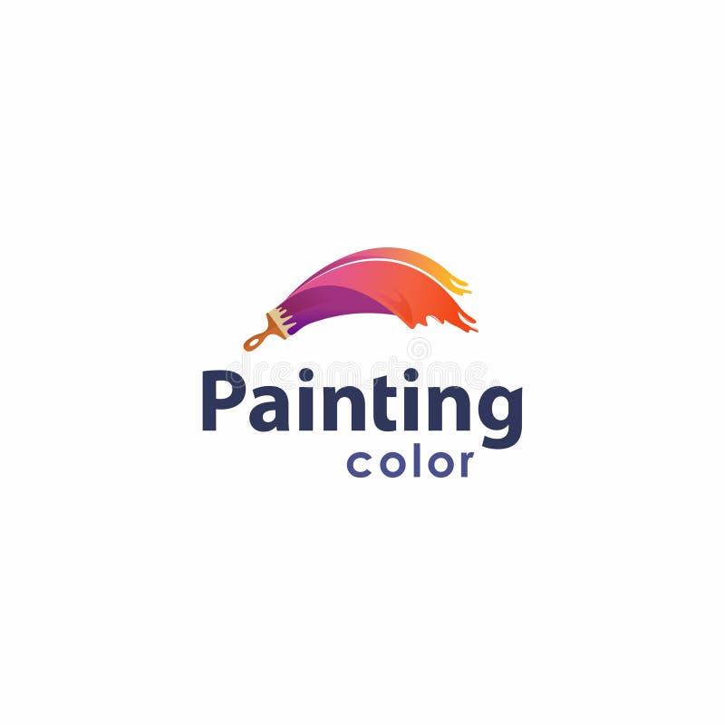 Malerei-Farbe lizenzfreies stockbild