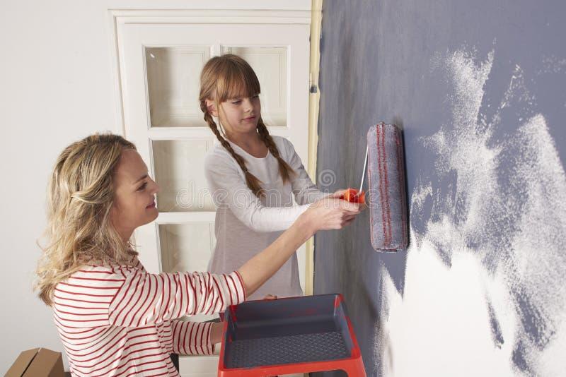 Malerei-Wand stockfotografie