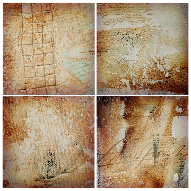 Malereibeschaffenheitshintergrund lizenzfreies stockbild