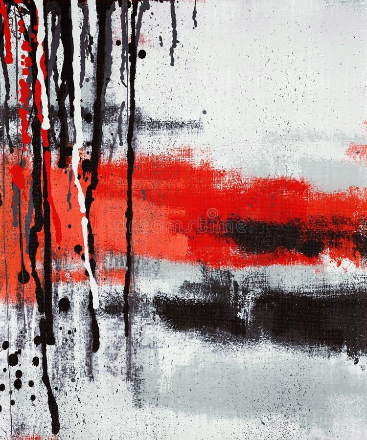 Malereibratenfett der abstrakten Kunst lizenzfreies stockfoto