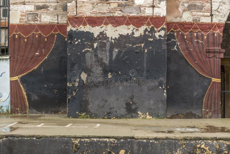 Malereihauptvorhang lizenzfreie stockbilder