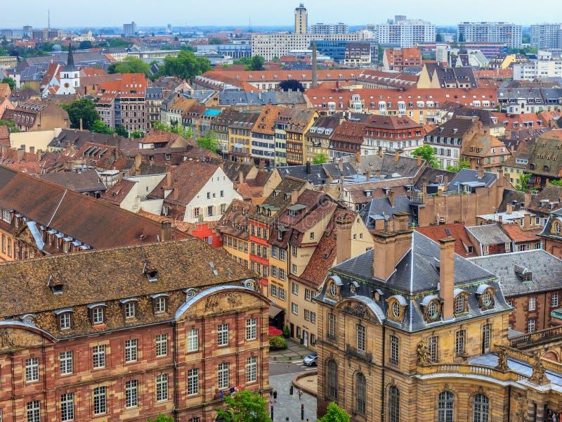 Malerisches Straßburg lizenzfreie stockbilder