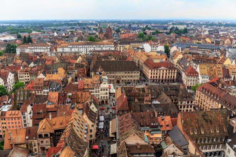 Malerisches Straßburg stockfoto