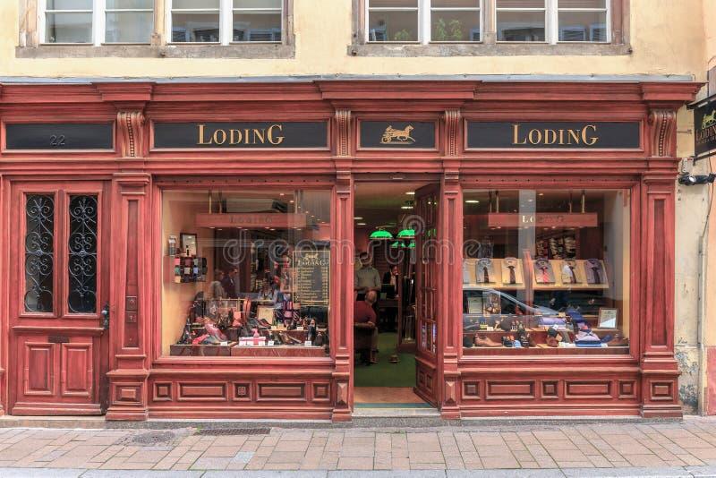 Malerisches Straßburg lizenzfreie stockfotos