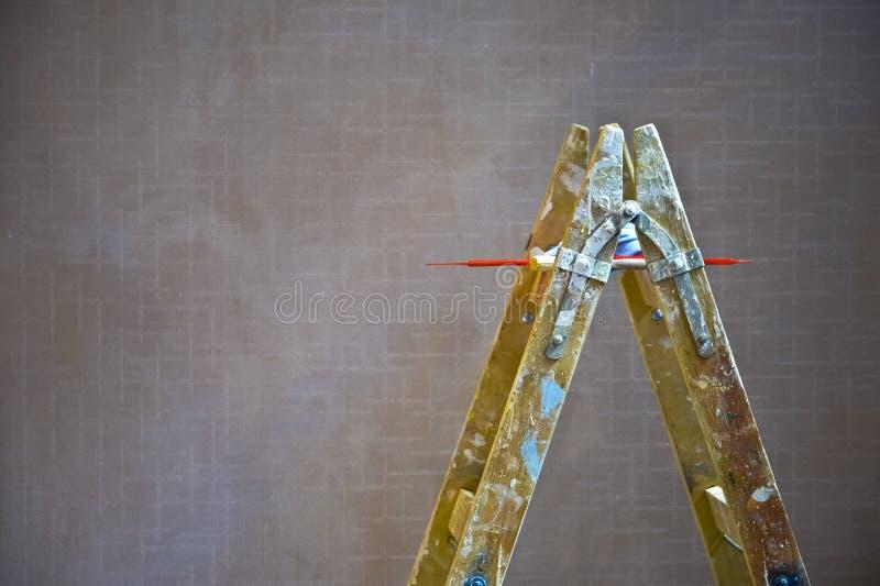 Malerleiter stockbilder