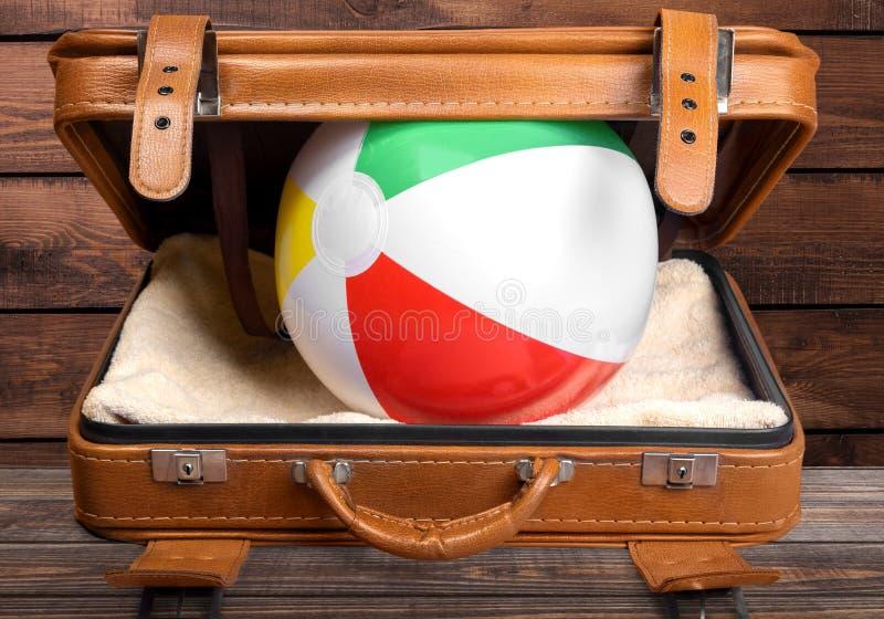 maleta foto de archivo